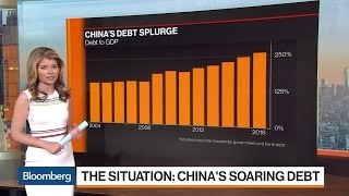 QuickTake: China's Quickly Growing Pile of Debt