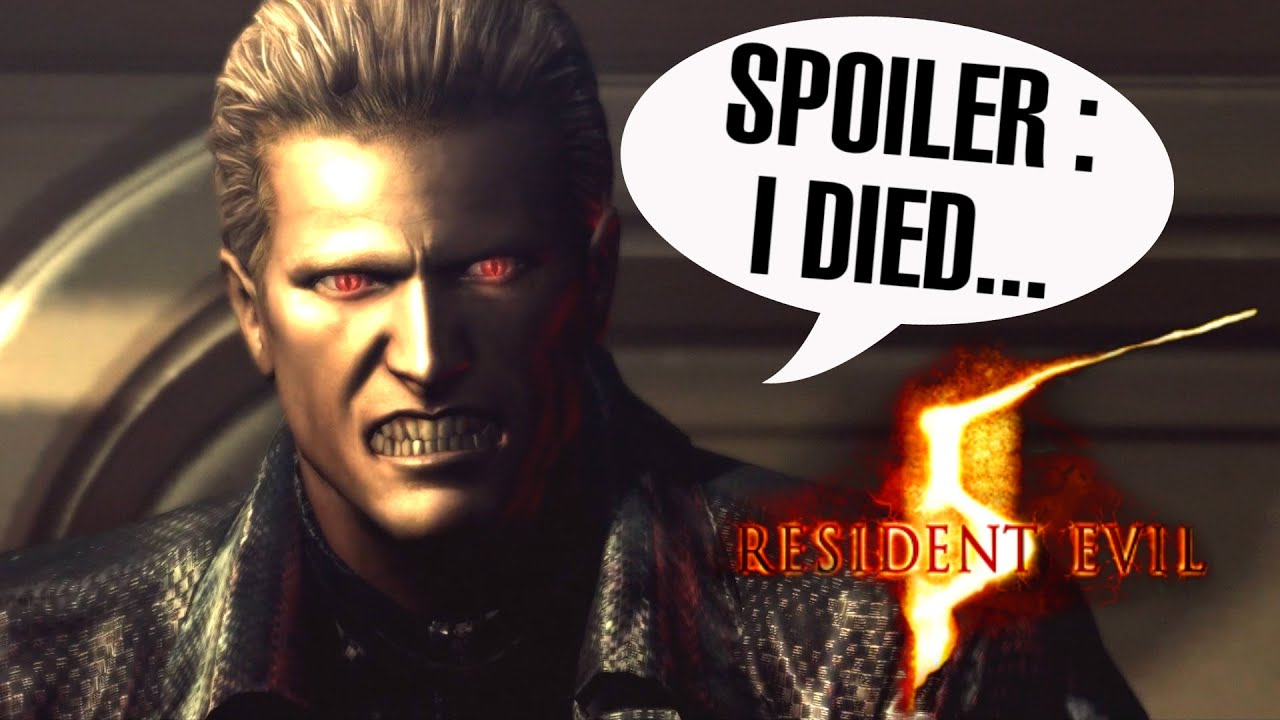 Resident Evil 5 Remastered Albert Wesker Final Boss Fight Youtube