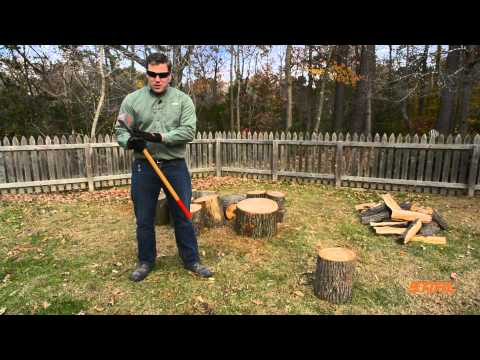 How to Split Wood to the Proper Length for Firewood