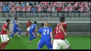 Morocco vs Croatia PES 2016  FIFA World Cup 2018
