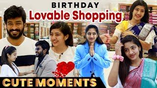 Idhayathai Thirudathey Serial Actor NAVIN \u0026 BINDU Surprise Shopping | இதயத்தை திருடாதே