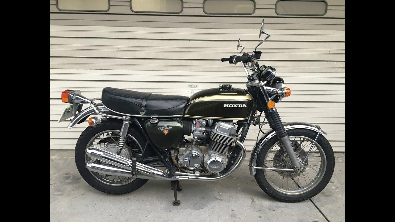 1972 HONDA CB750 Four K2 Original Condition