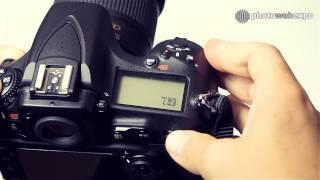 Nikon D810. Интерактивный видео тест. Часть 1