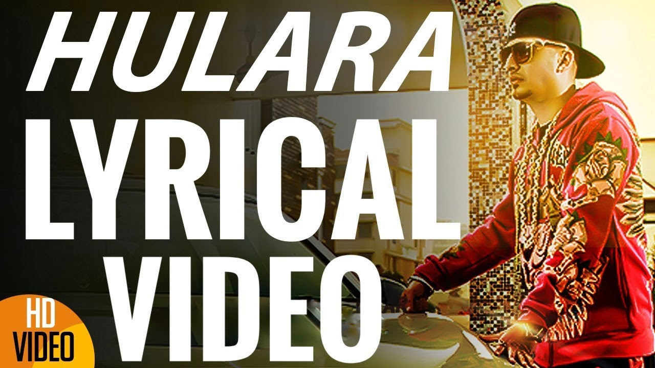 J Star Hulara Lyrical Full Official Music Video Youtube