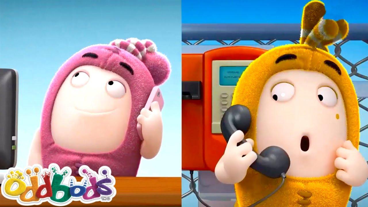 ODDBODS | Call My Friend | Cartoons for Kids