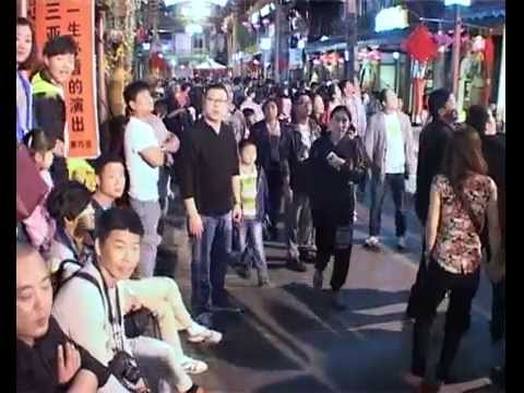 Отжиг русских в Китае. Романс парк. Город Санья