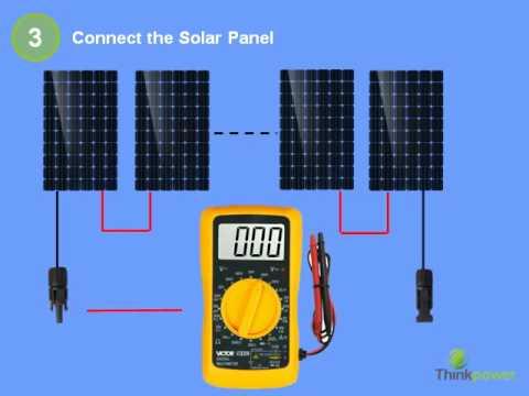 Thinkpower Solar System Inverter Installation Instruction YouTube