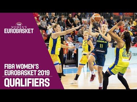 Romania v Slovenia - Full Game - FIBA Women's EuroBasket 2019 Qualifiers