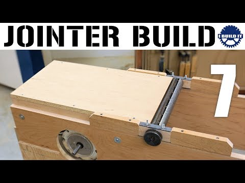 How To Make A Jointer - The Out-Feed Table
