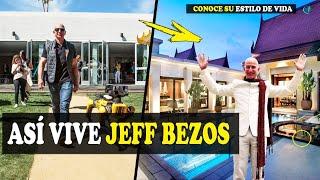ASI ES LA VIDA DE JEFF BEZOS,  EL HOMBRE MAS RICO DEL MUNDO,  CONOCE SU HISTORIA Y MUCHAS COSAS MAS.