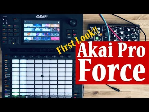 Akai Pro's Force - First Impressions and Initial Thoughts