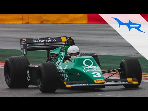 1983 Tyrrell 012 Cosworth V8 F1 Sound at Spa (Acceleration & Pit Revving)