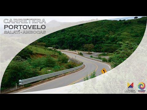 Carretera Portovelo - Salatí - Ambocas   Video Proyección