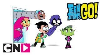 Teen Titans Go! | Forsvinder | Dansk Cartoon Network