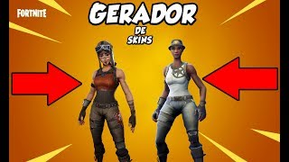 SKINS GENERATOR | 100% FUNCTIONAL | * UPDATED MARCH 2019 * | FORTNITE
