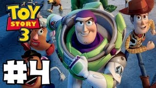 Toy Story 3 The Video-Game - Toy Box Mode - Episode 4 (HD Gameplay Walkthrough)