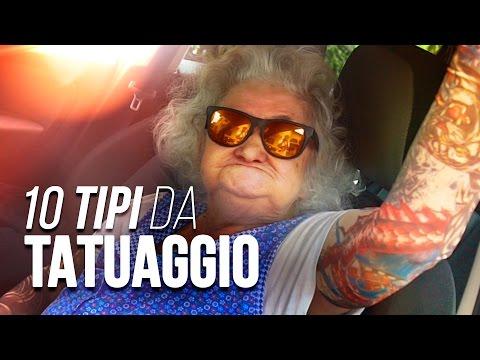 10 TIPI DA TATUAGGIO - iPantellas