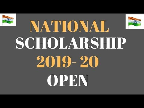 National Scholarship Portal 2019-20 Open | How To Apply MCM, Post Matric, Pre Matric Scholarship ||