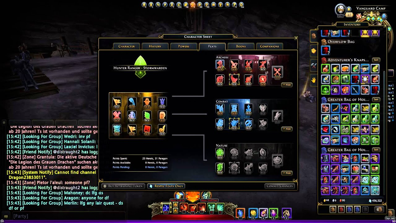 Best Neverwinter Hunter Ranger Archer Pve Build
