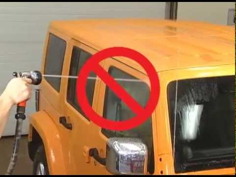 Jeep Wrangler Water Leak Best Practices Youtube