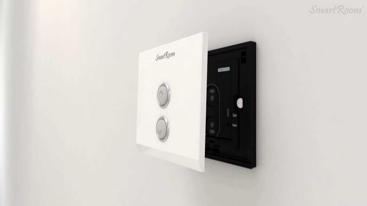 Home Automation- SmartRoom Wireless Dimmer Switch English - YouTube