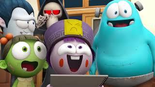 Spookiz CULA Учится рисовать Шедевр Мультфильмы для детей WildBrain