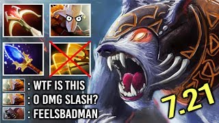 OMG! 2s Kill Septer Ursa Counter Juggernaut 0 DMG Omnislash on Enrage Crazy Gameplay 7.21 Dota 2
