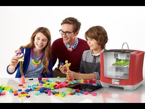 Mattel announces 3D printer for kids, smart house for Barbie (Tomorrow Daily 315)