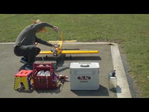 Radio controlled planes and miniature runway at taipei riverside park