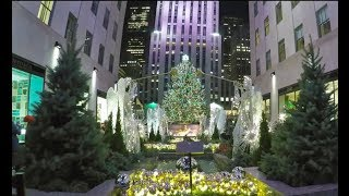 4K NEW Christmas in New York City NYC - 2017