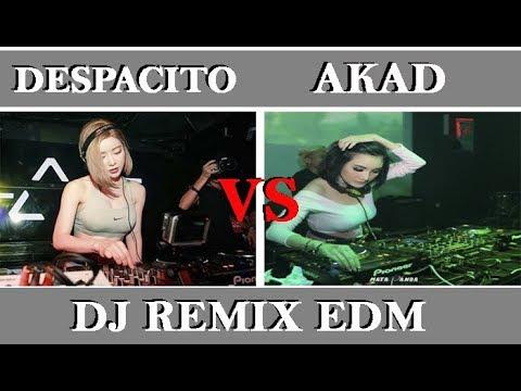 Despacito X Faded VS Akad Payung Teduh (DJ Edm Remix) #mana yang kamu pilih?