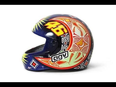 Airbrush Helmet Valentino Rossi