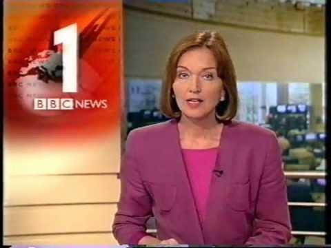 BBC One O'Clock News opening 29 September 1999