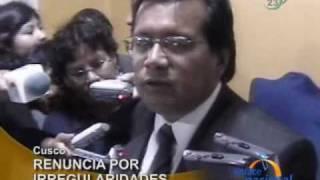 Jefe regional de COFORPI renuncia por irregular venta de terrenos, en Cusco