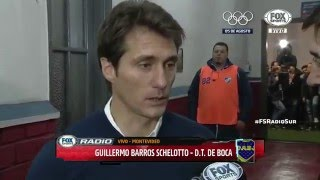 Guillermo post Nacional 1-1 Boca - Copa Libertadores 2016