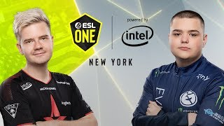 CS:GO - Evil Geniuses vs. Astralis [Dust2] Map 2 - Grand Final - ESL One New York 2019