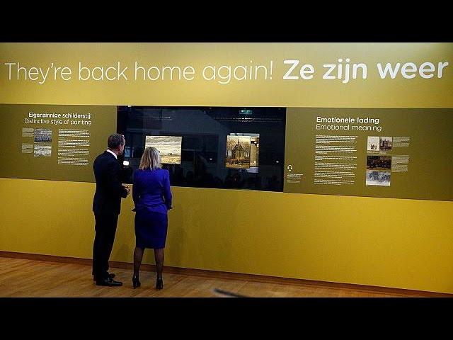Украденные картины Ван Гога вернулись в музей в Амстердаме