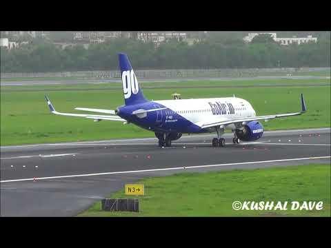 GO AIR Airbus A320-271N(VT-WGD) takeoff From Mumbai Airport