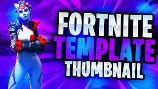 "NEW ""LEAKED"" Fortnite Skins May 2019 Thumbnail Template! - (FREE Fortnite GFX Template)"