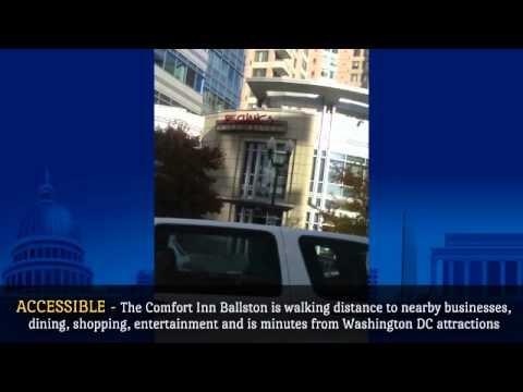 Experience Arlington VA or Washington DC at the  Comfort Inn Ballston and Comfort Inn Pentagon City