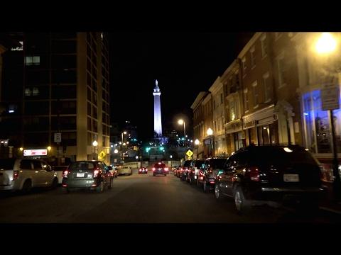 "Baltimore, Maryland: Historic Charles Street (""The Charles Street Journey"")"