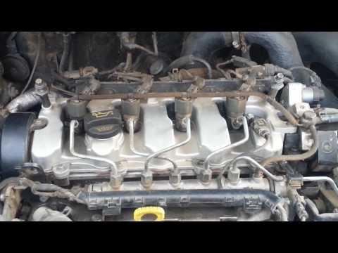 Hyundai Tucson 2008 CRDI 2.0 diesel engine, ticking noise.