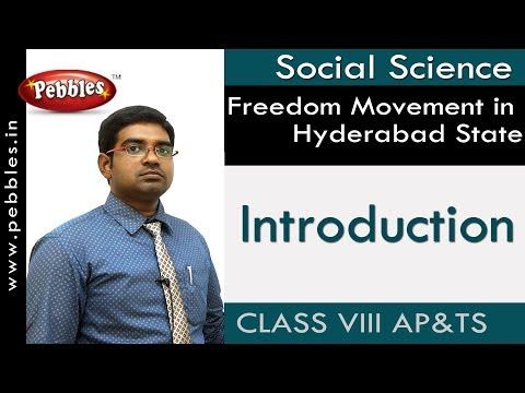 Introduction : Movement in Hyderabad State | Social | Class 8 | AP&TS Syllabus