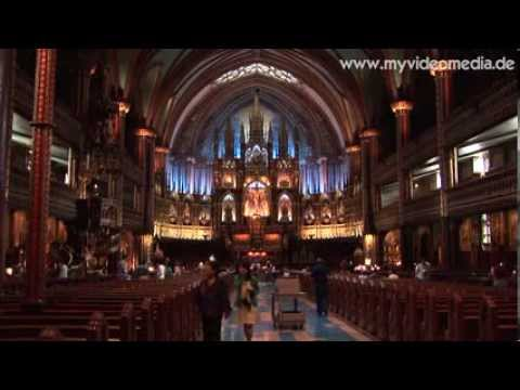 Montreal, Basilique Notre Dame - Canada HD Travel Channel