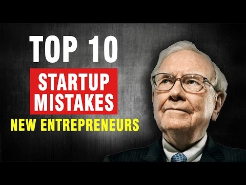 5 Business Mistakes Entrepreneurs Make Common Business Owner Problems Video Video Content