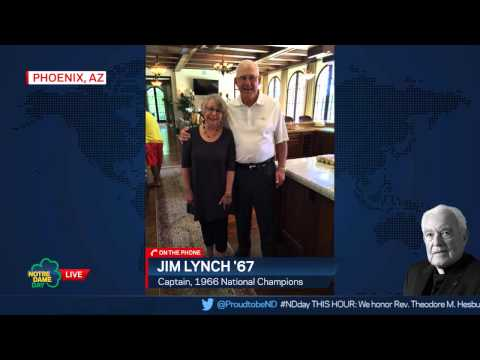 Jim Lynch '67 Interview - Notre Dame Day 2015