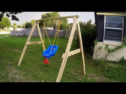 DIY Easy/Cheap 2x4 Kids Swing Ideal For Ages 0-5