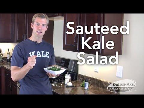 How To Make Sauteed Kale Salad