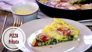 Pizza Frittata - 30 Minutes Ultimate Breakfast