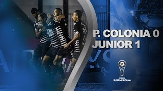 Plaza Colonia vs. Junior [0-1] | RESUMEN | Segunda Fase | CONMEBOL Sudamericana